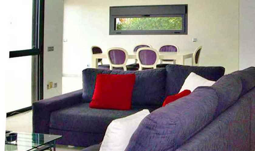 Wohnraum Ferienvilla Mallorca PM 6250