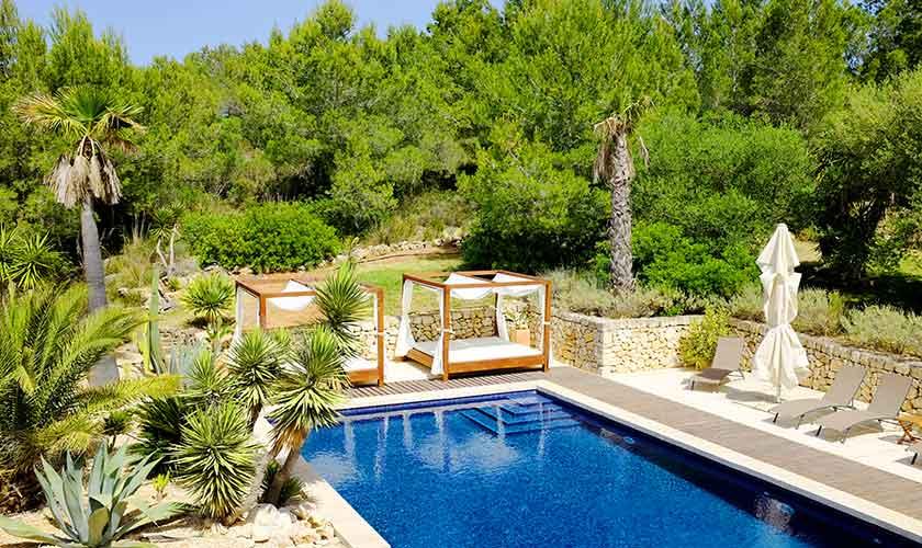 Daybeds Luxusvilla Mallorca Portocolom PM 629