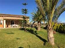 Blick auf die Ferienfinca Mallorca PM 6343 Ostküste Mallorca