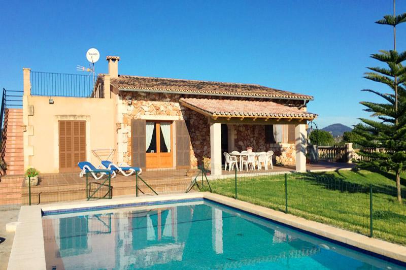 Finca und Pool PM 6343 Ostküste Mallorca
