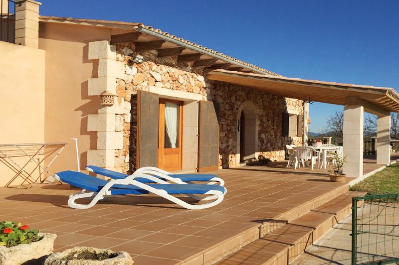 Treppenstufen zum Pool Ferienhaus Mallorca Ostküste PM 6343
