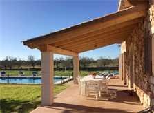 Pool und Terrasse  Finca Mallorca Ostküste PM 6343 für 6 - 7 Personen