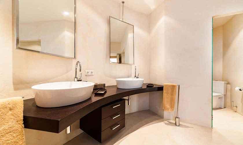 Badezimmer Villa am Meer Mallorca PM 6510