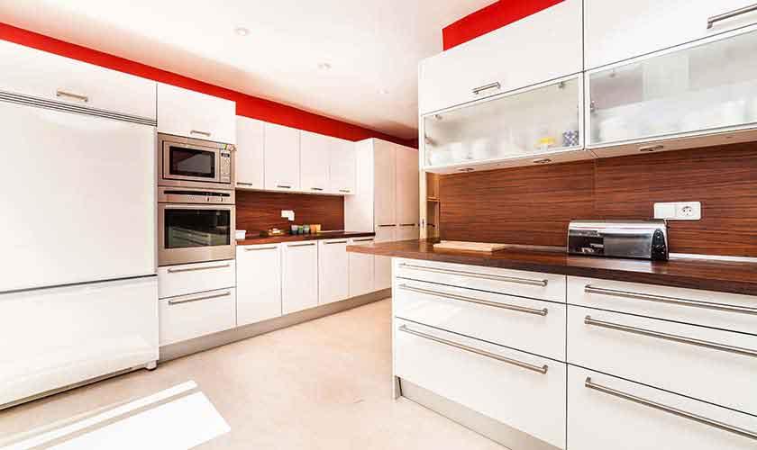 Küche Luxusvilla Mallorca 10 Personen PM 6510