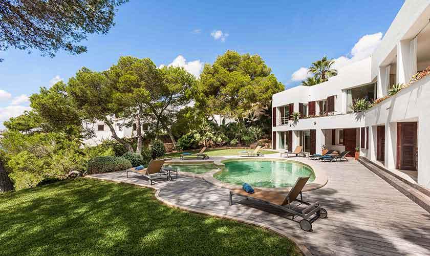Pool und Ferienvilla Mallorca 10 Personen PM 6510