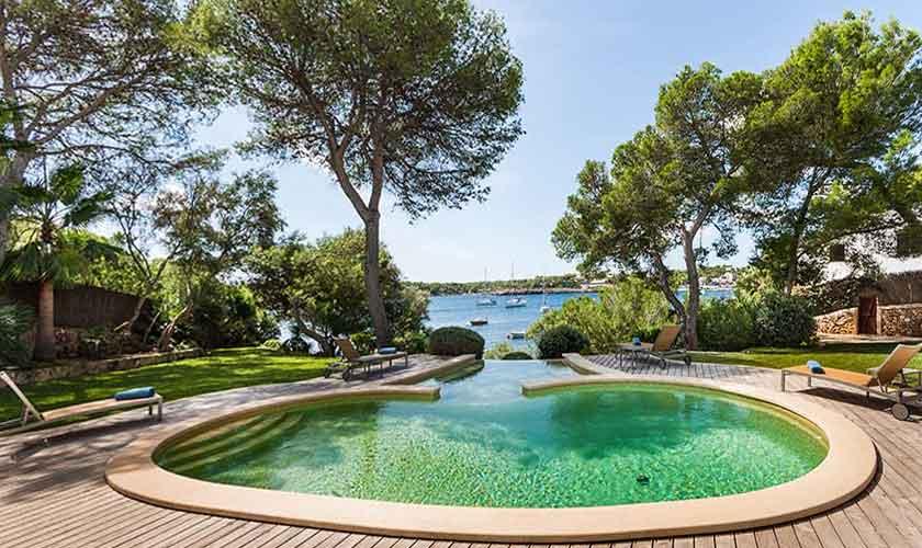 Pool und Meerblick Ferienvilla Mallorca 10 Personen PM 6510