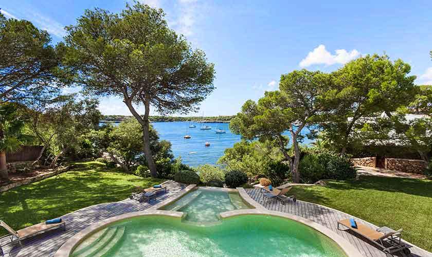Pool und Meerblick Villa Mallorca 10 Personen PM 6510