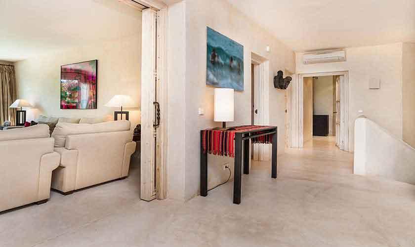 Wohnraum Ferienvilla Mallorca 10 Personen PM 6510