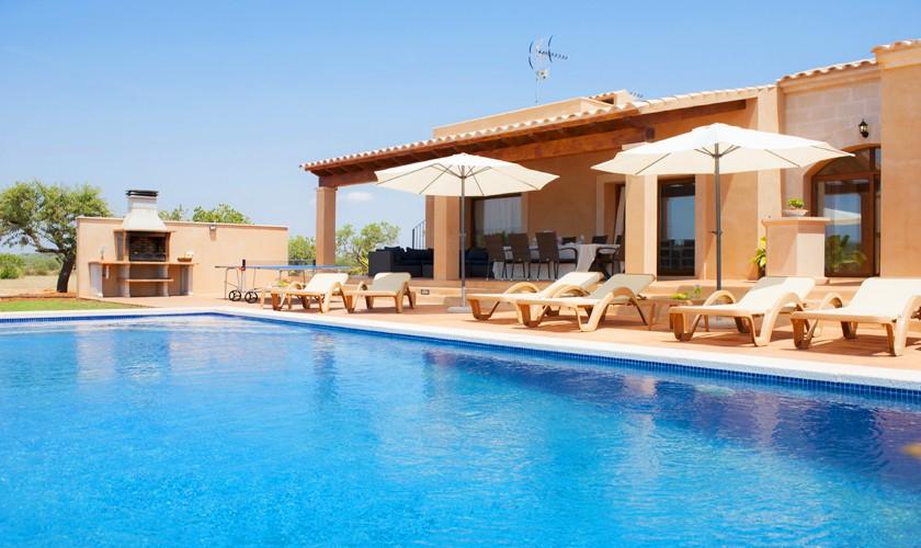 Pool und Finca Mallorca Südosten PM 6528