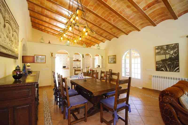 Essplatz Finca Mallorca Süden PM 6542