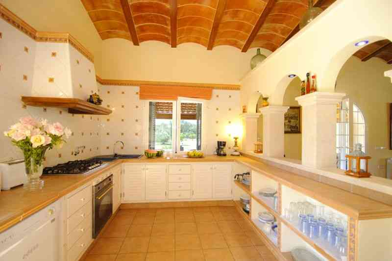 Küche Finca Mallorca Süden PM 6542
