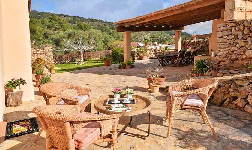 Terrasse Finca Mallorca 8 Personen PM 6564