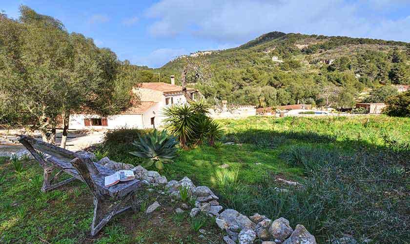 Blick von der Finca Mallorca 8 Personen PM 6564