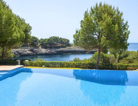 Meerblick und Pool Ferienhaus Mallorca Meerblick für 12 Personen PM 6574