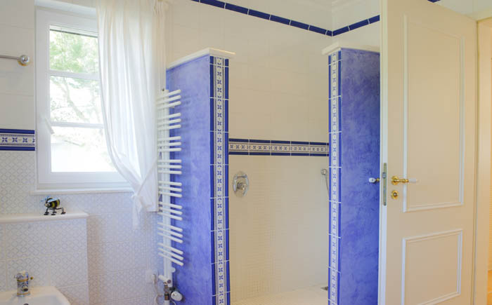 3. Badezimmer Ferienhaus Meerblick Pool PM 6575 Mallorca Südosten