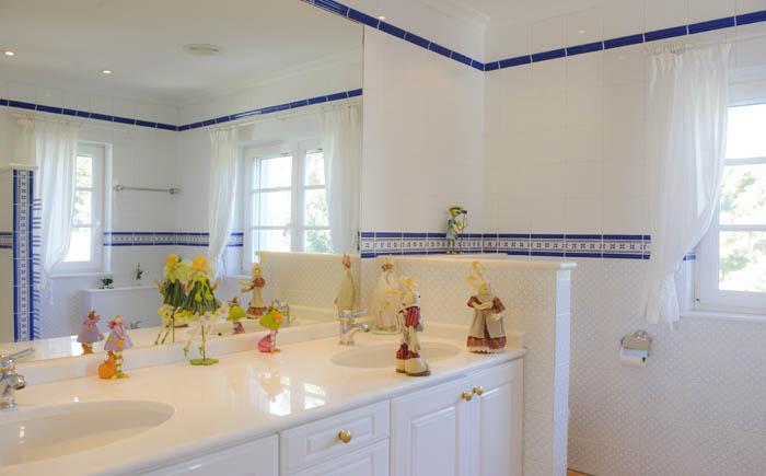 4. Badezimmer Ferienhaus mit Meerblick und Pool PM 6575 Mallorca Südosten