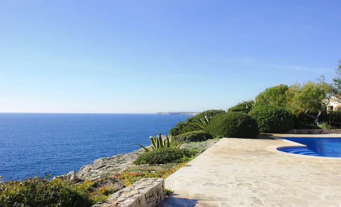 Meerblick - Ferienhaus mit Pool für 8 Personen PM 6575 Mallorca Südosten