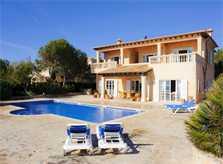 Pool und Ferienhaus Mallorca Südosten Porto Petro PM 6575