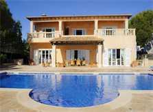 Poolblick Ferienhaus Mallorca direkt am Meer PM 6575