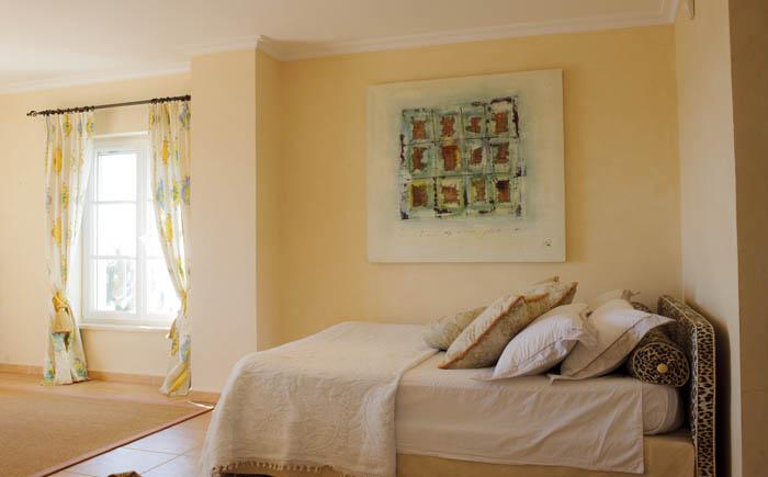 4. Schlafzimmer Ferienhaus Meerblick Pool PM 6575 Mallorca Südosten