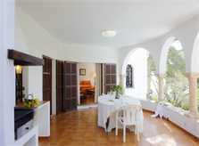 Aussenküche Ferienhaus Mallorca Südosten mit Pool und Meerblick für 8 Personen PM 6576