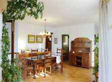 Essplatz 2 Ferienhaus Mallorca Südosten mit Pool und Meerblick für 8 Personen PM 6576