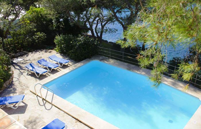 Poolblick 2 Ferienhaus am Meer auf Mallorca für 8 Personen PM 6576