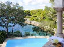 Meerblick Ferienhaus Mallorca Südosten mit Pool für 8 Personen PM 6576