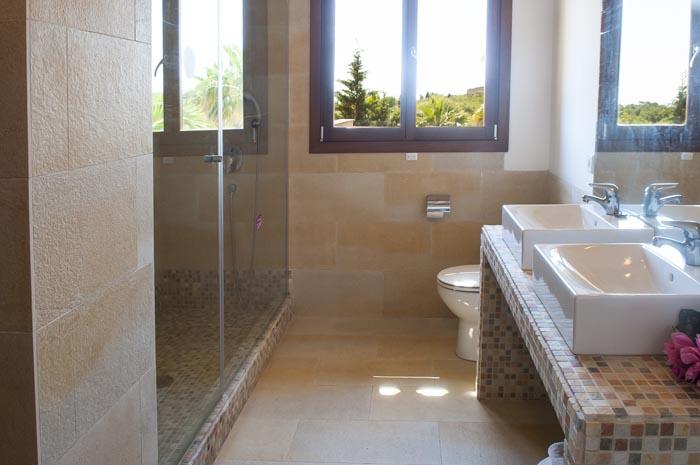 Bad 2 Finca Mallorca mit Pool PM 6579 für 10 Personen