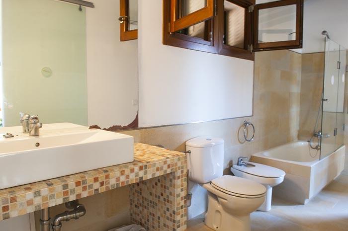 Bad 3 Finca Mallorca mit Pool PM 6579 für 10 Personen