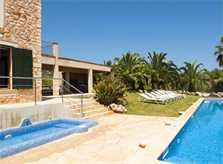 Blick auf den Kinderpool Ferienfinca PM 6579 Mallorca Südosten