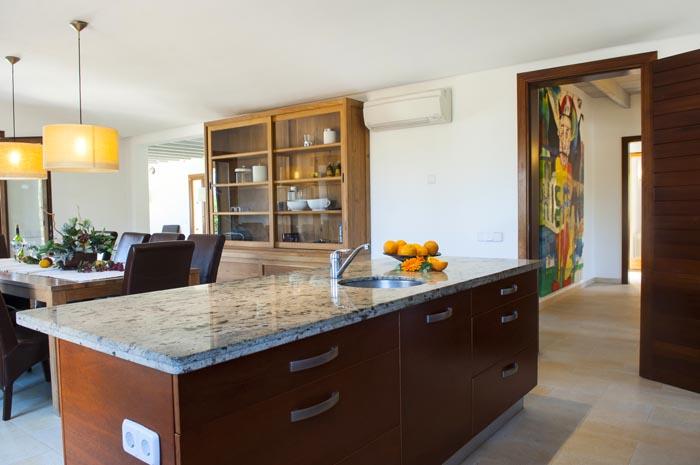 Küche 2 Finca Mallorca mit Pool PM 6579 für 10 Personen