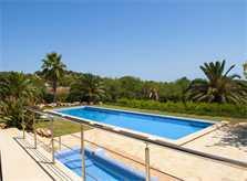 Poolblick und Landschaft 2 Finca PM 6579 Mallorca Südosten