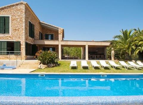 Pool und Finca Exklusive Finca Mallorca 10 Personen PM 6579