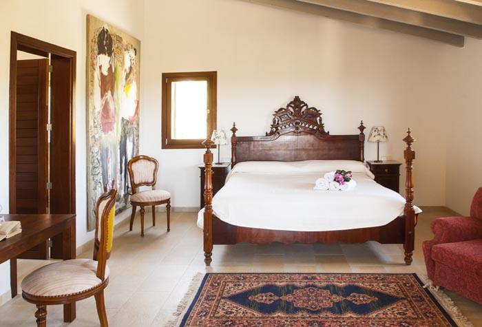 Schlafzimmer 2 Finca Mallorca mit Pool PM 6579 für 10 Personen