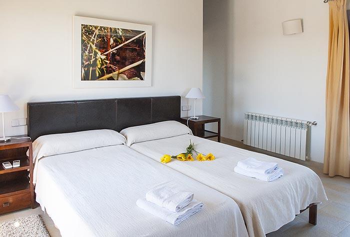 Schlafzimmer 3 Finca Mallorca mit Pool PM 6579 für 10 Personen