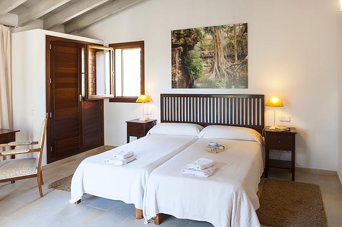 Schlafzimmer 4 Finca Mallorca mit Pool PM 6579 für 10 Personen