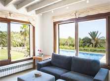 Wohnraum 3 Finca Mallorca mit Pool PM 6579 für 10 Personen