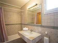 Badezimmer Ferienhaus Mallorca Pool Meerblick 8 Personen PM 6581