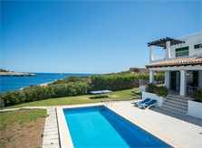 Pool und Meerblick Ferienhaus Mallorca Südosten PM 6581