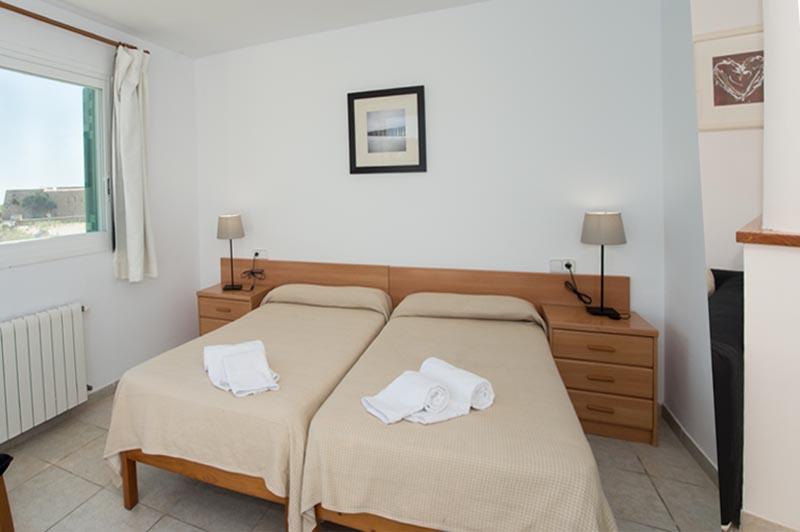 Schlafzimmer 4 Ferienhaus Mallorca Meerblick 8 Personen PM 6581