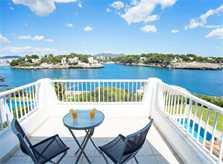 Terrasse und Meerblick Ferienhaus Mallorca Südosten PM 6581