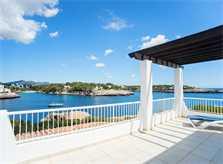 Meerblick von der Terrasse oben Ferienhaus Mallorca Südosten PM 6581