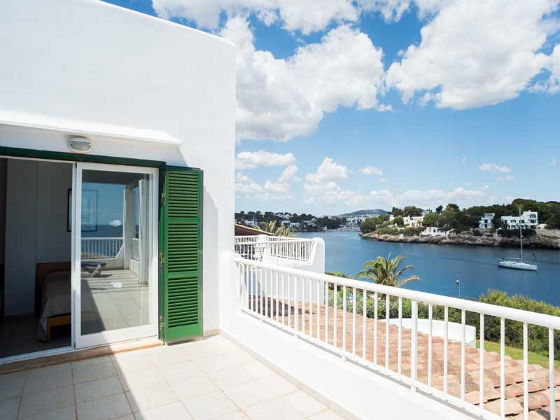 Terrasse 2 Ferienhaus Mallorca Pool Meerblick 8 Personen PM 6581