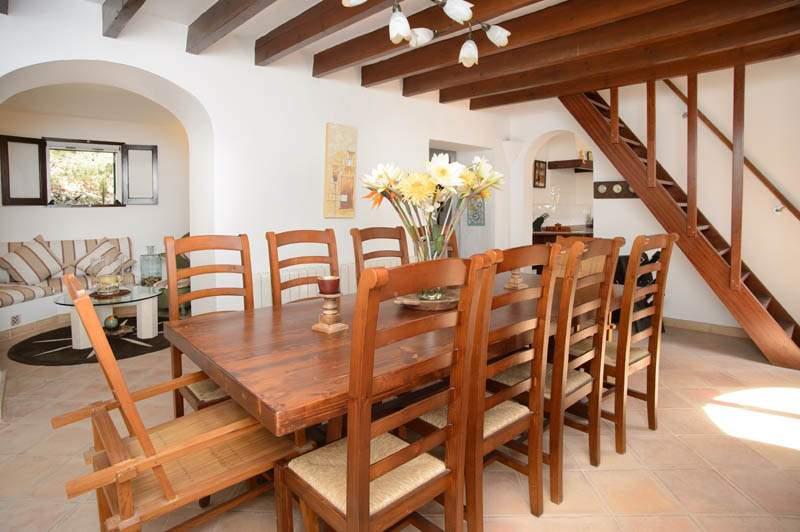 Essplatz  Ferienhaus Mallorca mit Pool im Südosten PM 6583