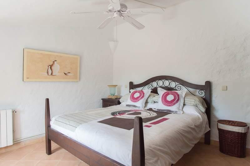 Schlafzimmer  Ferienhaus Mallorca mit Pool im Südosten PM 6583