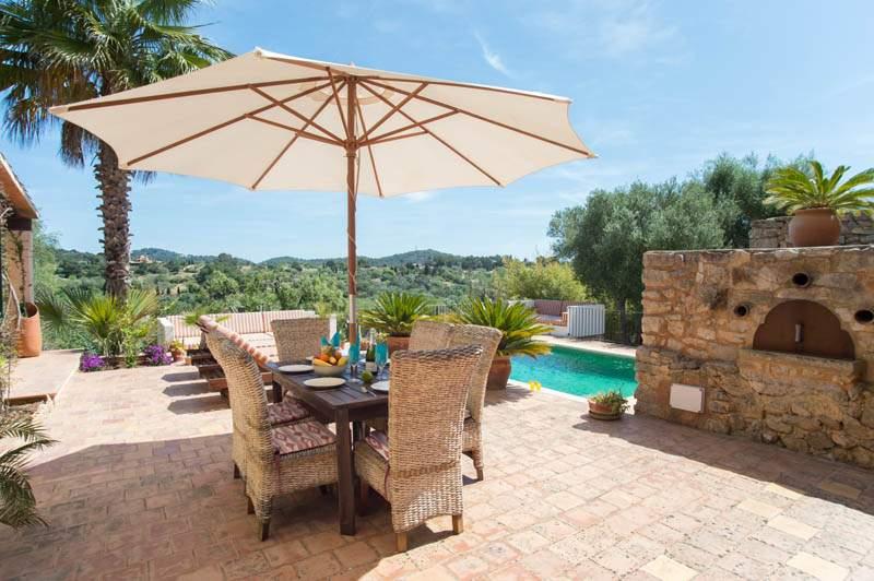 Terrasse und Finca Mallorca PM 6583 im Südosten