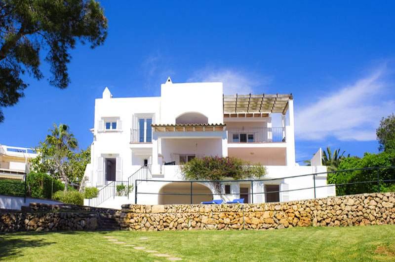 Blick auf die Ferienvilla Mallorca für 12 Personen PM 6584