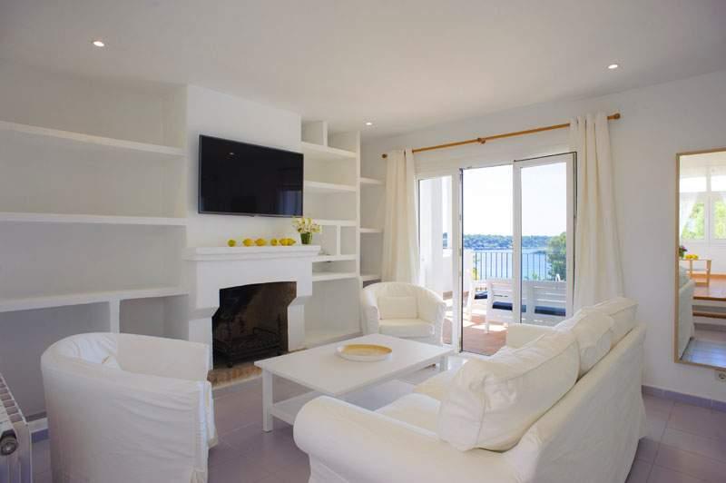 Wohnraum Ferienvilla Mallorca für 12 Personen PM 6584