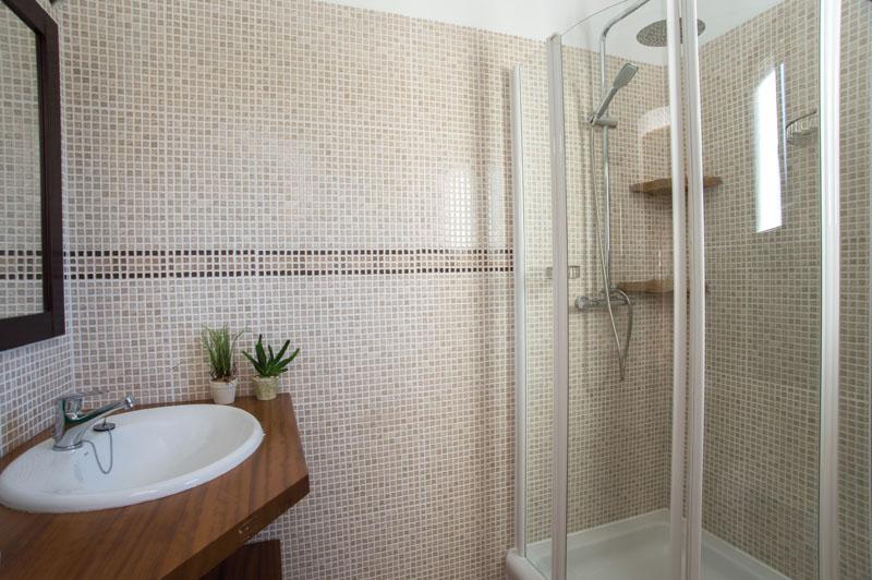 Badezimmer Ferienhaus Mallorca Südosten für 12 Personen PM 6587